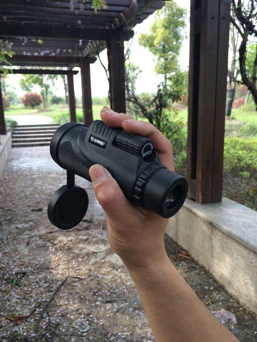Universal de 12 x 50 monocular de lente de la cámara Telescopio de ...