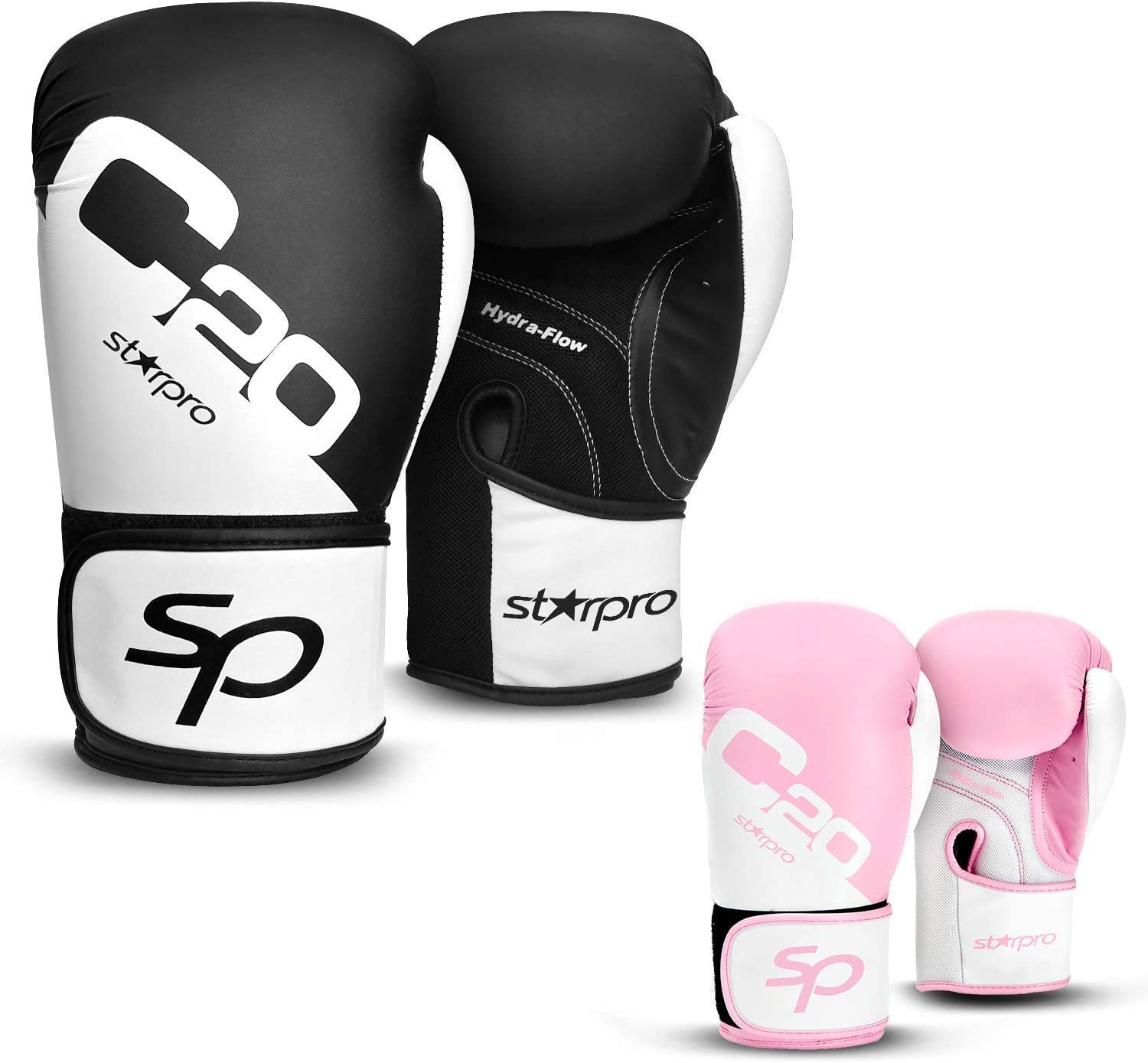 PU Leather Boxing Gloves Muay Training Punching Sparring Gloves Fighting Mitt