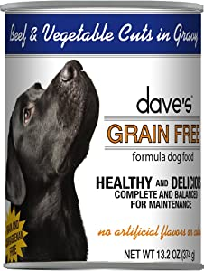 Dave'S Pet Food Grain Free Wet Canned Dog Food, 13 Oz Can (Case Of 12)