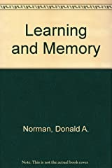 Learning and memory Hardcover