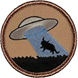 """Space Invaders Patrol Patch - 2"""" Diameter Round Embroidered Patch"""