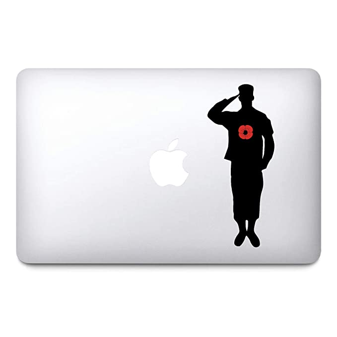 Fridge Car Window Small Laptop Sticker Poppy Flower Decal premiumstickers Lest We Forget Remembrance Day Sticker