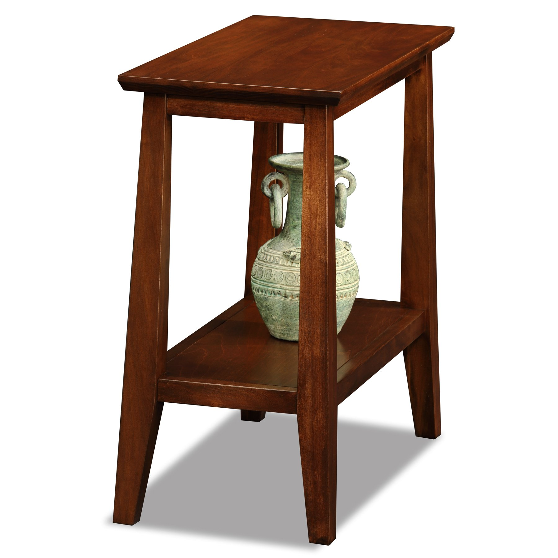 Leick Delton Narrow Chairside End Table by Leick Furniture