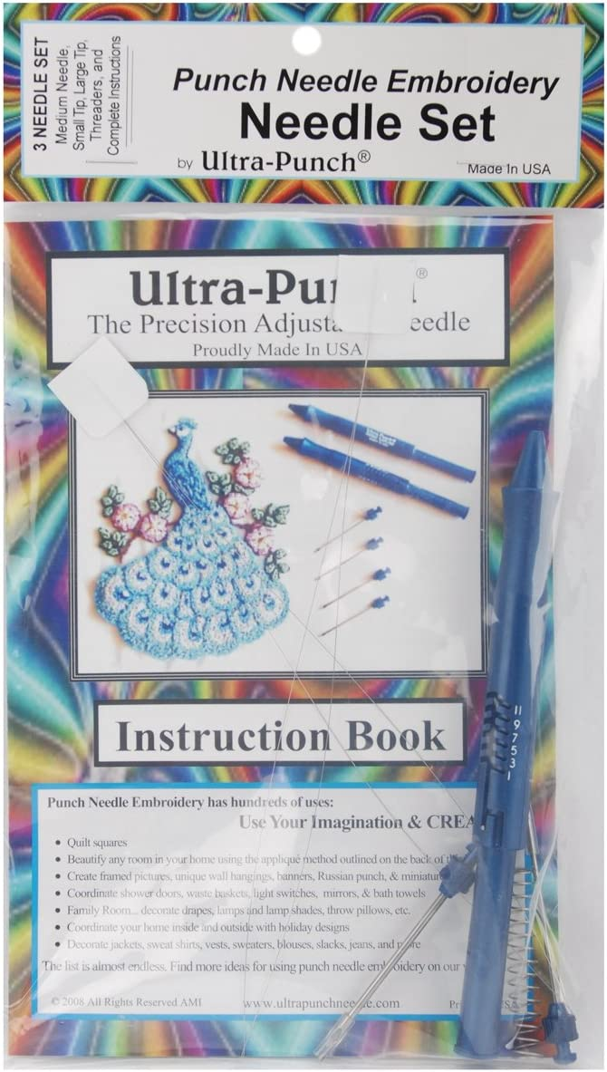 Small//Medium//Large Adam Beadworks Ultra Punch Needle Set