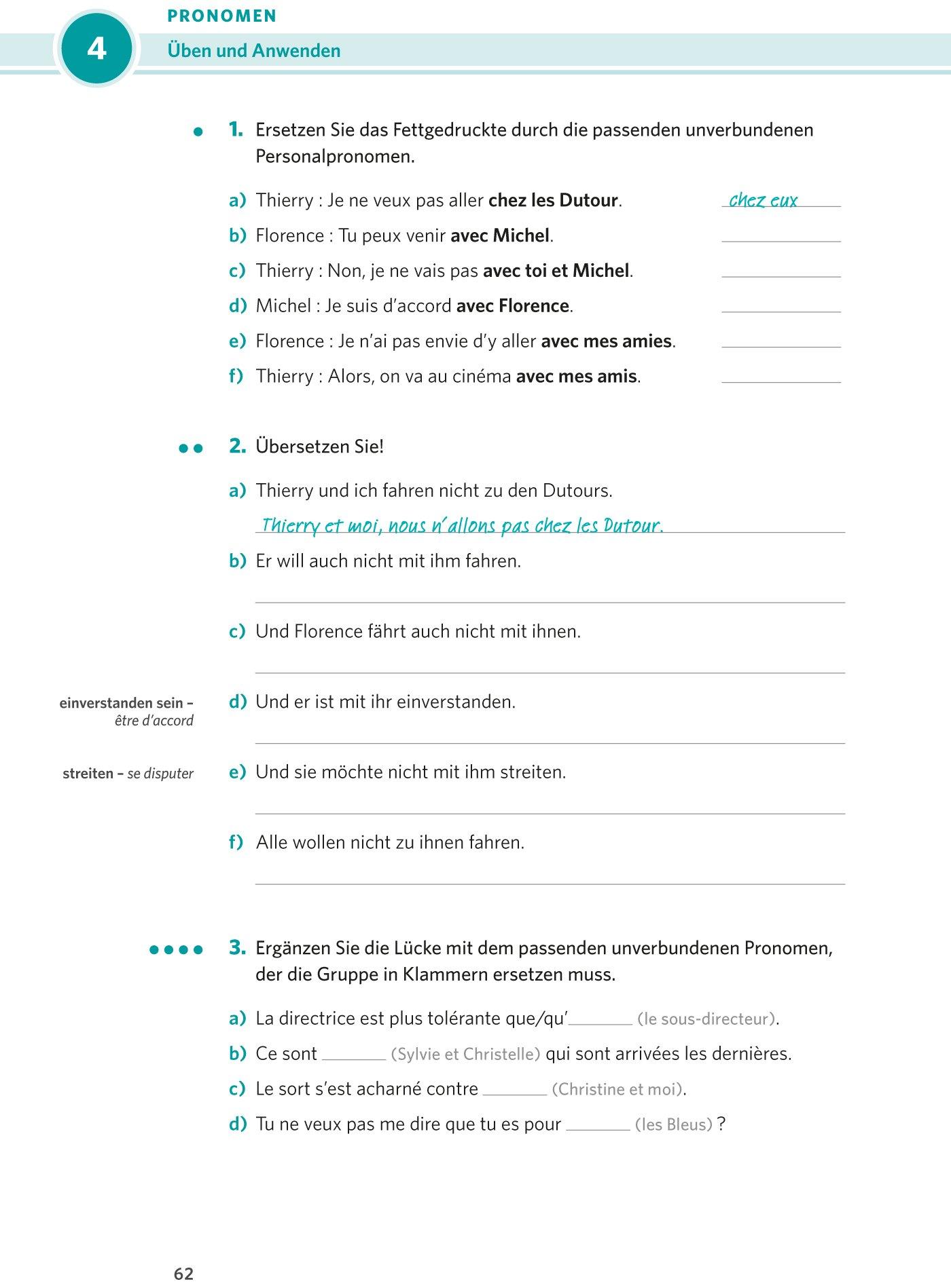 PONS Praxis-Grammatik Französisch: 9783125627932: Amazon.com: Books