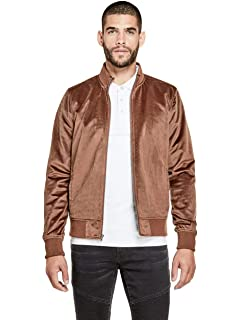 G by GUESS Mens Kaz Bomber Jacket at Amazon Mens Clothing ...