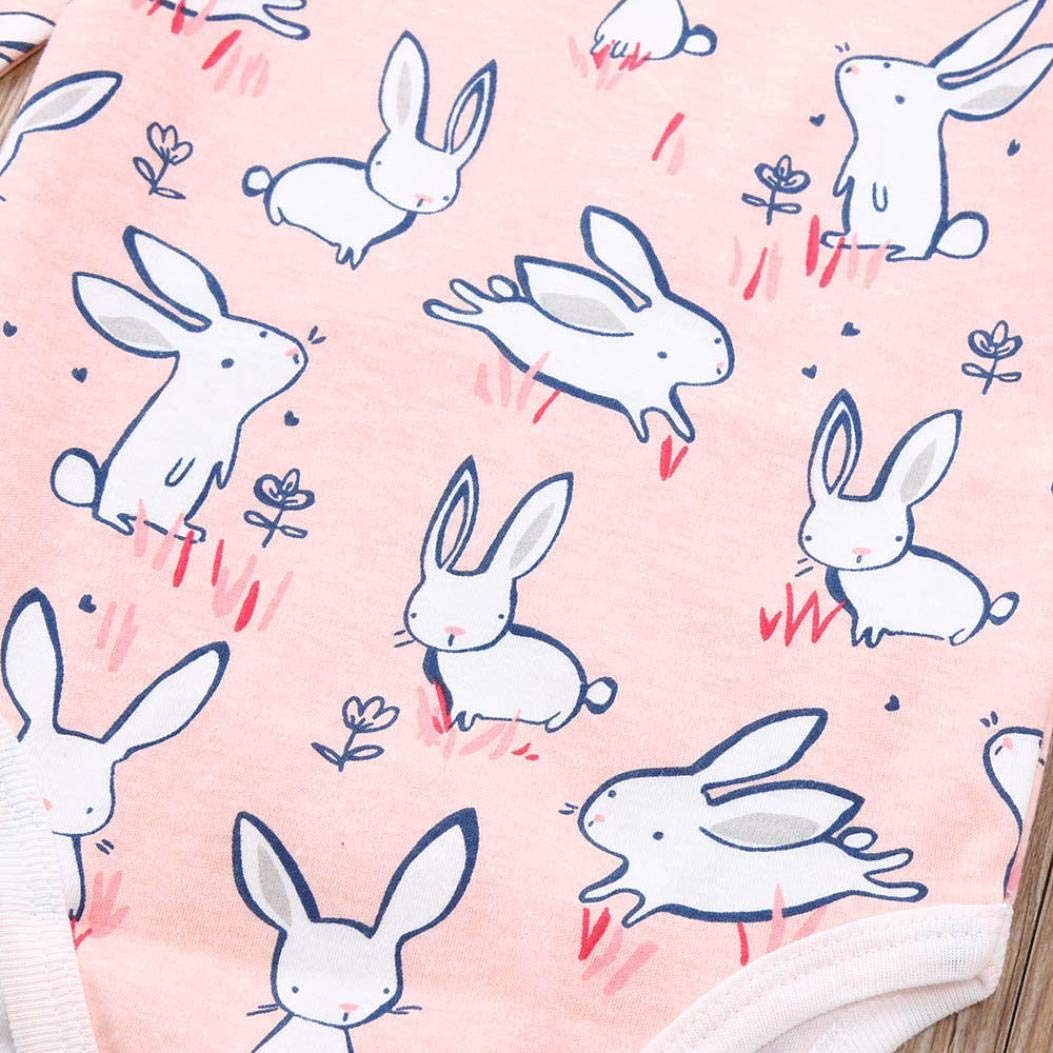 QinMM Body de Animal Linda para beb/é ni/ña y ni/ño Mono Peleles Manga Larga para la Blusa de Primavera de oto/ño Pijama Camisa