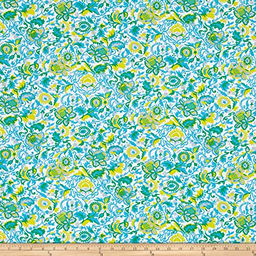 FreeSpirit Fabrics Jennifer Paganelli Sunny Isle Claire Sky Yard