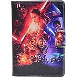 2015 The Force Awakens Pattern Leather Flip Stand Case Cover For Apple ipad mini 1, ipad mini 2 Retina ,ipad mini 3