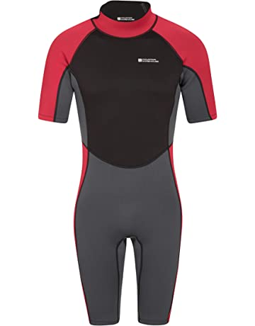 Mountain Warehouse Shorty Mens Full Length Wetsuit – Comfortable Fit  Swimming Wet Suit 61fa513645df