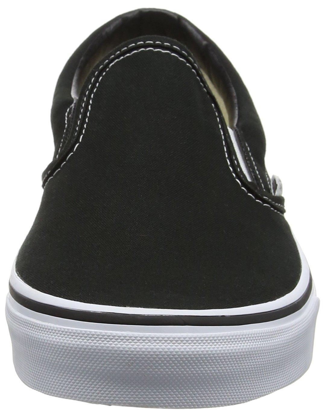 Vans Classic Slip-On Skate Shoes B075B4BBR6 7 M US Women / 5.5 M US Men Black White