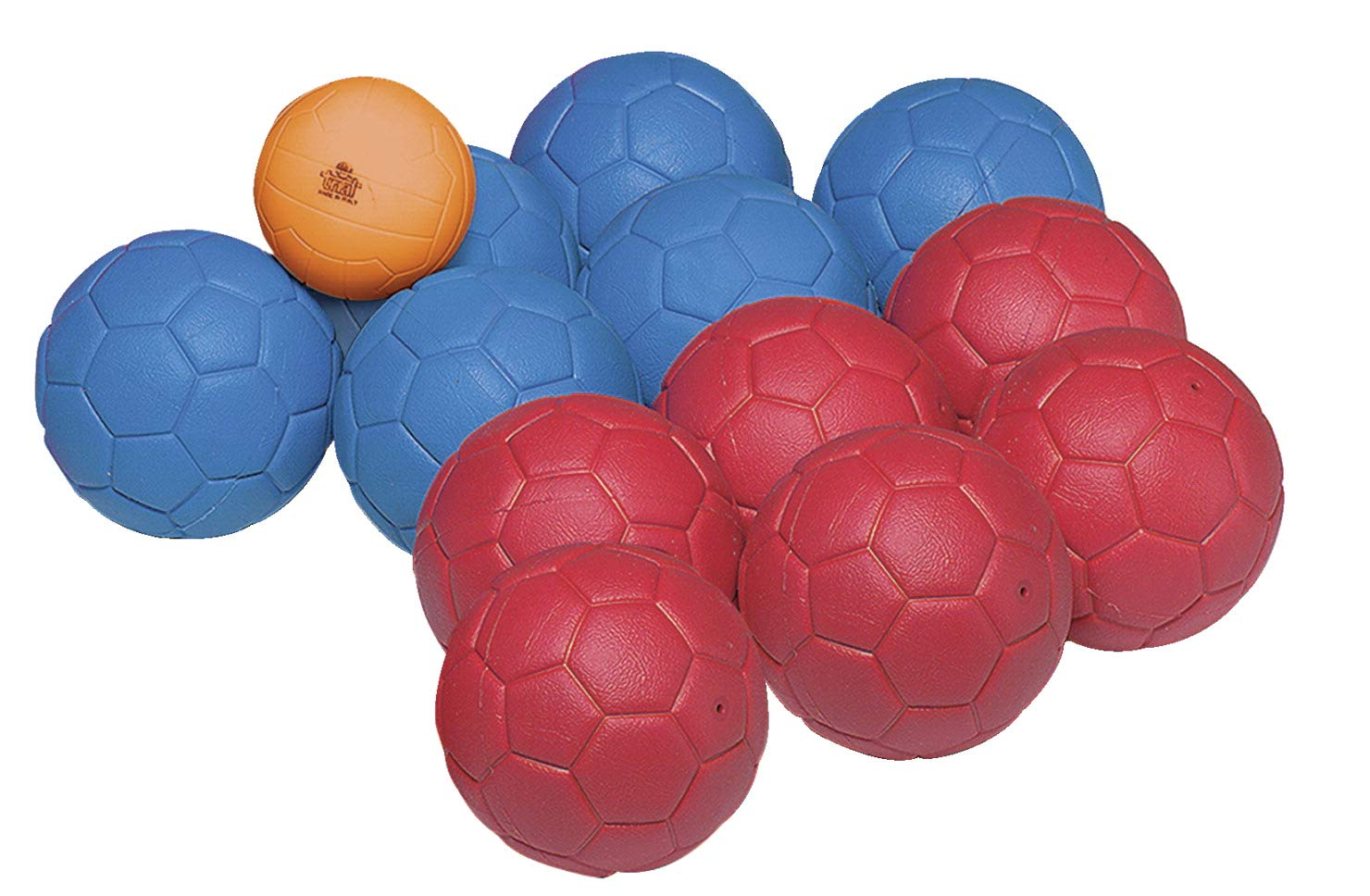 Image of Sportime Ultimax Softbocce Game, Set of 12 Bocce Balls, 1 Jack Ball and Carry Case