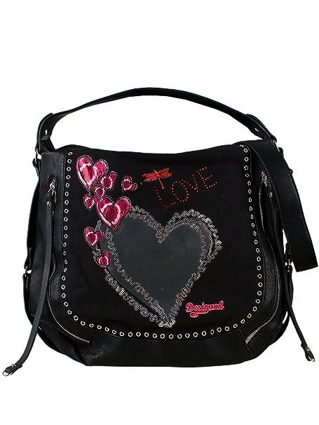 Bolso Mano Punk Nueva Heart Colección Desigual De Marteta Mujer y7b6fg
