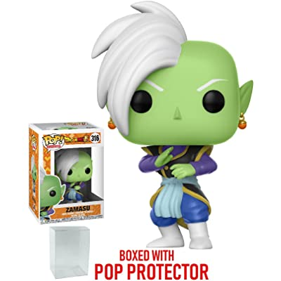 Funko Pop! Anime: Dragon Ball Super - Zamasu Vinyl Figure (Bundled with Pop Box Protector CASE): Toys & Games
