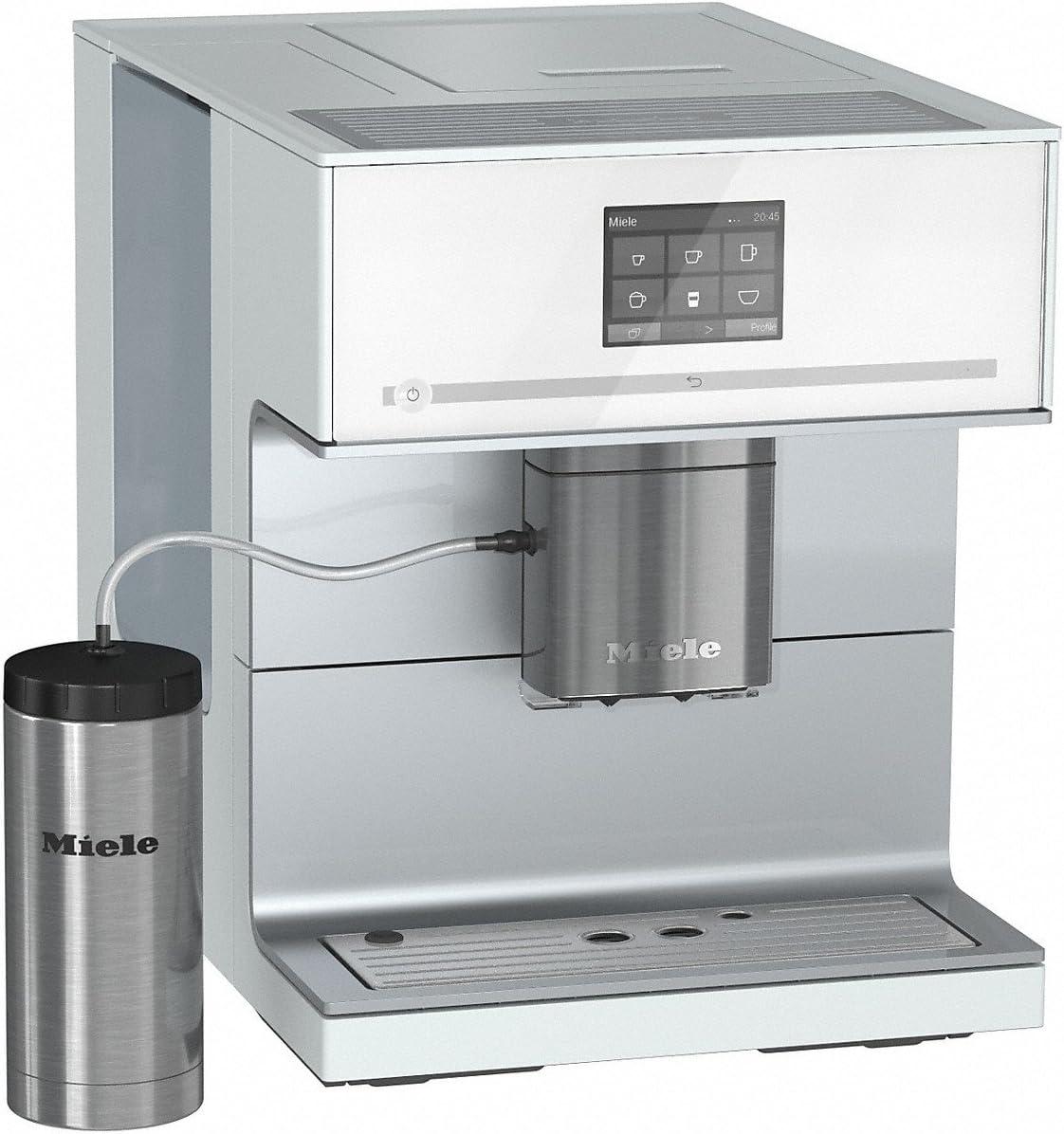Miele CM 7300 Independiente Totalmente automática Máquina espresso 2.2L Blanco - Cafetera (Independiente, Máquina espresso, 2,2 L, Molinillo integrado, 1500 W, Blanco): Amazon.es: Hogar