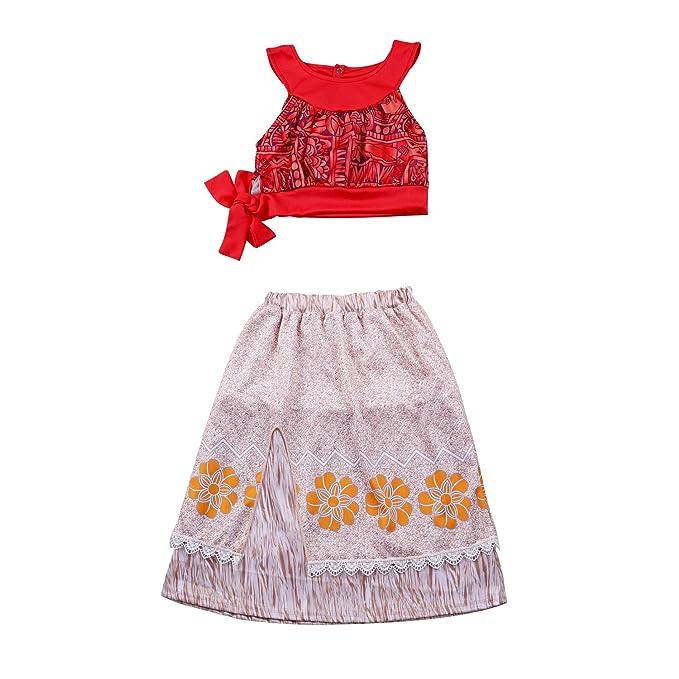 Amazon.com: haskas la niña vestidos de princesa dibujos ...