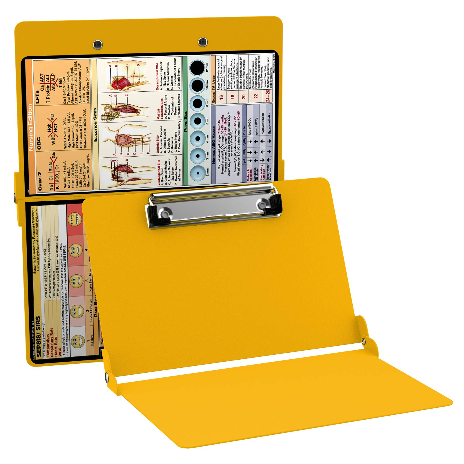 WhiteCoat Clipboard-Yellow Regal – Nursing Edition