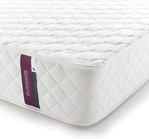 Summerby Sleep No3. Pocket Spring and Memory Foam Hybrid Mattress | Double: 137cm x 190cm