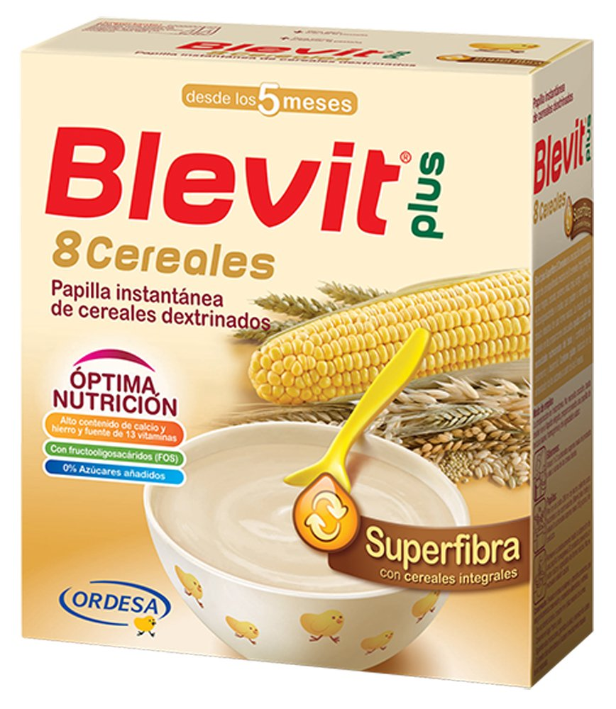 Blevit Plus Superfiber 8 Cereals ORDESA 101844