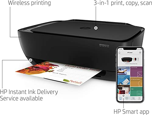 HP DeskJet 3639 Wireless All-in-One Printer, Works with Alexa K4T98A