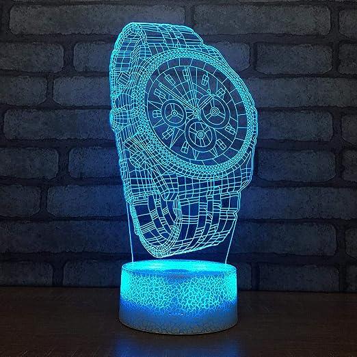 Ambiguity Luz de Noche 3D,Pequeña de LED 3D de la Noche luz ...