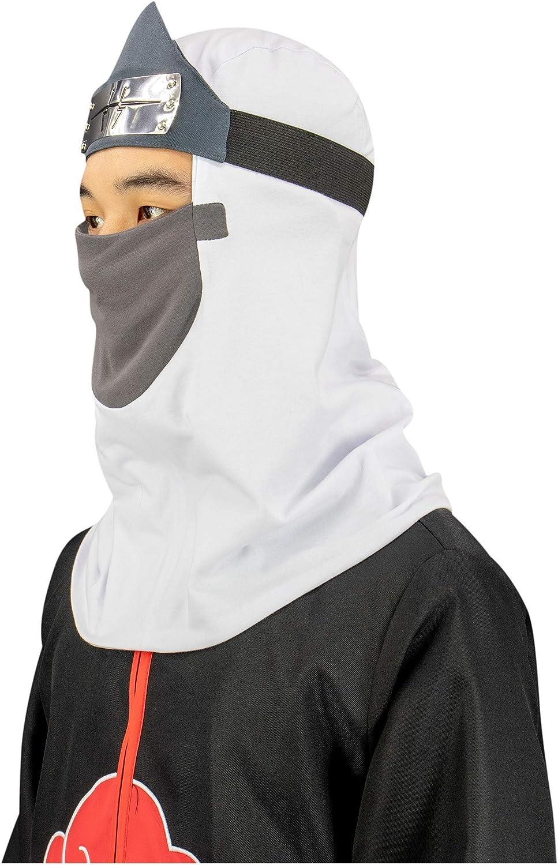 Dazcos Naruto Costumes Cosplay Accessories Kakuzu Helmet Headband Veil