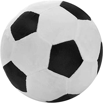 Amazon.com: Tplay - Almohada de pelota de fútbol, peluche ...