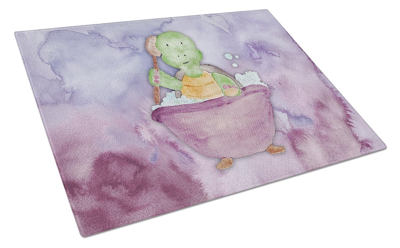Carolines Treasures BB7344LCB Turtle Bathing Watercolor Chopping Board Large Multicolor