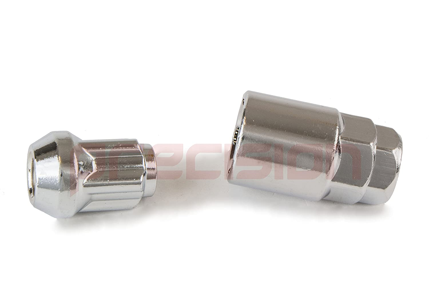 Chrome Locking Nuts for Genuine /& Aftermarket Alloy Wheels M12x1.5mm✓ 60/° Taper✓ Part No.N10OE