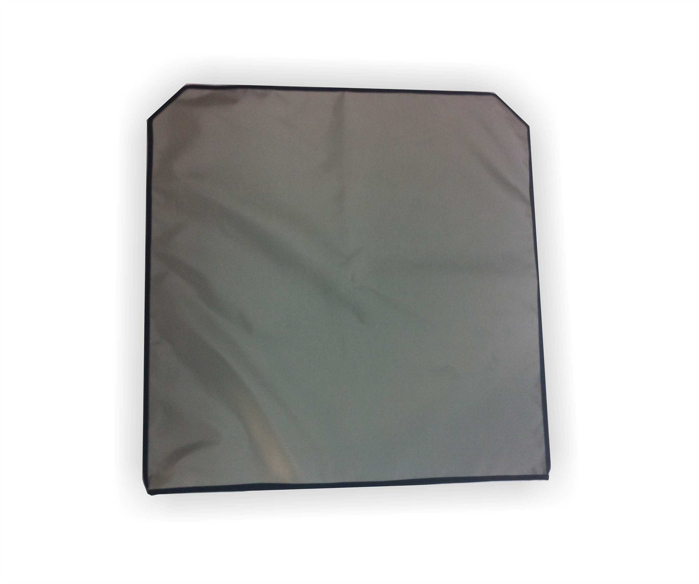 Full Size Industry Standard Microscopes Gray Nylon Dust Cover--22'' Wide X 22'' High by Viziflex