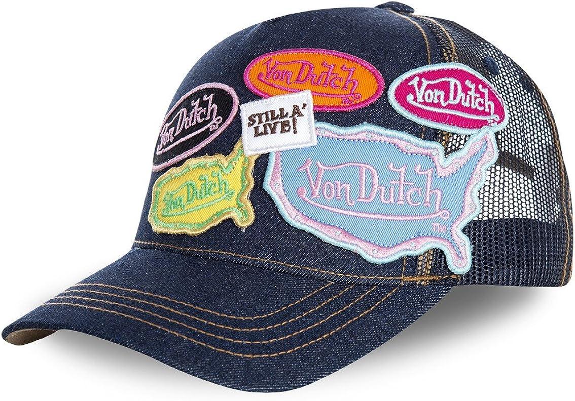 Von Dutch casquettes asia bleu