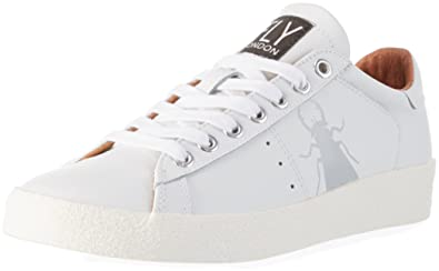 a47e7749 FLY London Womens BERG823FLY White Leather Shoes 38 EU: Buy Online ...