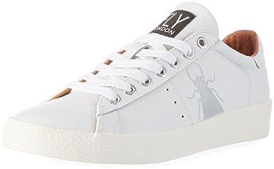 Damen Maco833fly Sneakers, Weiß (White), 39 EU FLY London