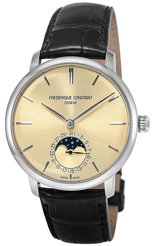 [フレデリックコンスタント]FREDERIQUE CONSTANT 腕時計 スリムラインムーンフェイズマニュファクチュール ベージュ文字盤 705BG4S6 メンズ 【並行輸入品】 B078YGRXQ7