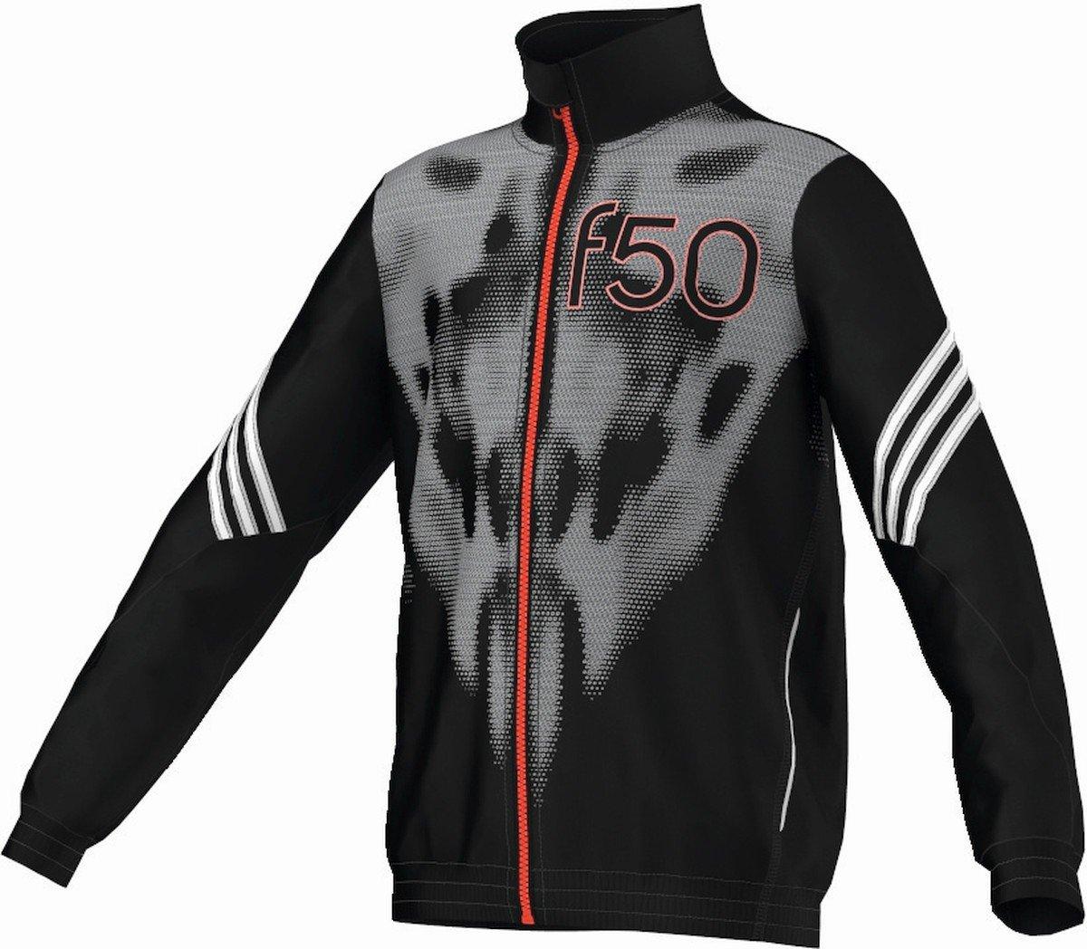 Adidas F50 Chaqueta de chándal niños Negro/Blanco/Rojo Talla:17 ...