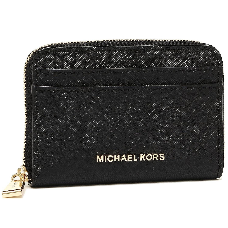 マイケルコース コインケース MICHAEL KORS 32H7GF6Z5L 001 ZA CARD CASE レディース 小銭入れコインケース 無地 BLACK 黒 [並行輸入品] B07BMPVY2W