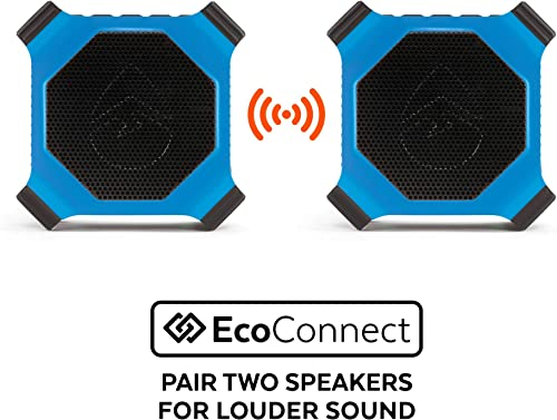 ECOXGEAR EcoEdge GDI-EXEDGE302 Rugged Waterproof Floating Portable Bluetooth Wireless 20 Watt Smart Speaker