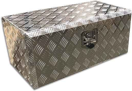 Caja de herramientas (aluminio, 730 x 320 x 400 mm): Amazon.es: Bricolaje y herramientas