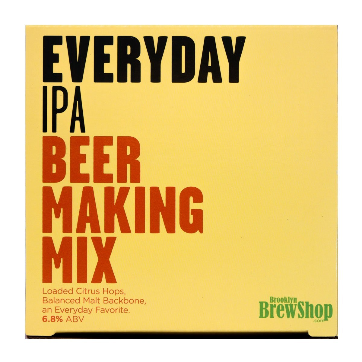 Brooklyn Brew Shop Everyday IPA Beer Making Mix: All-Grain Beer Making Mix Including Malted Barley, Hops And Yeast - Perfect For Brewing Craft Beer On Your Stove at Home by Brooklyn Brew Shop