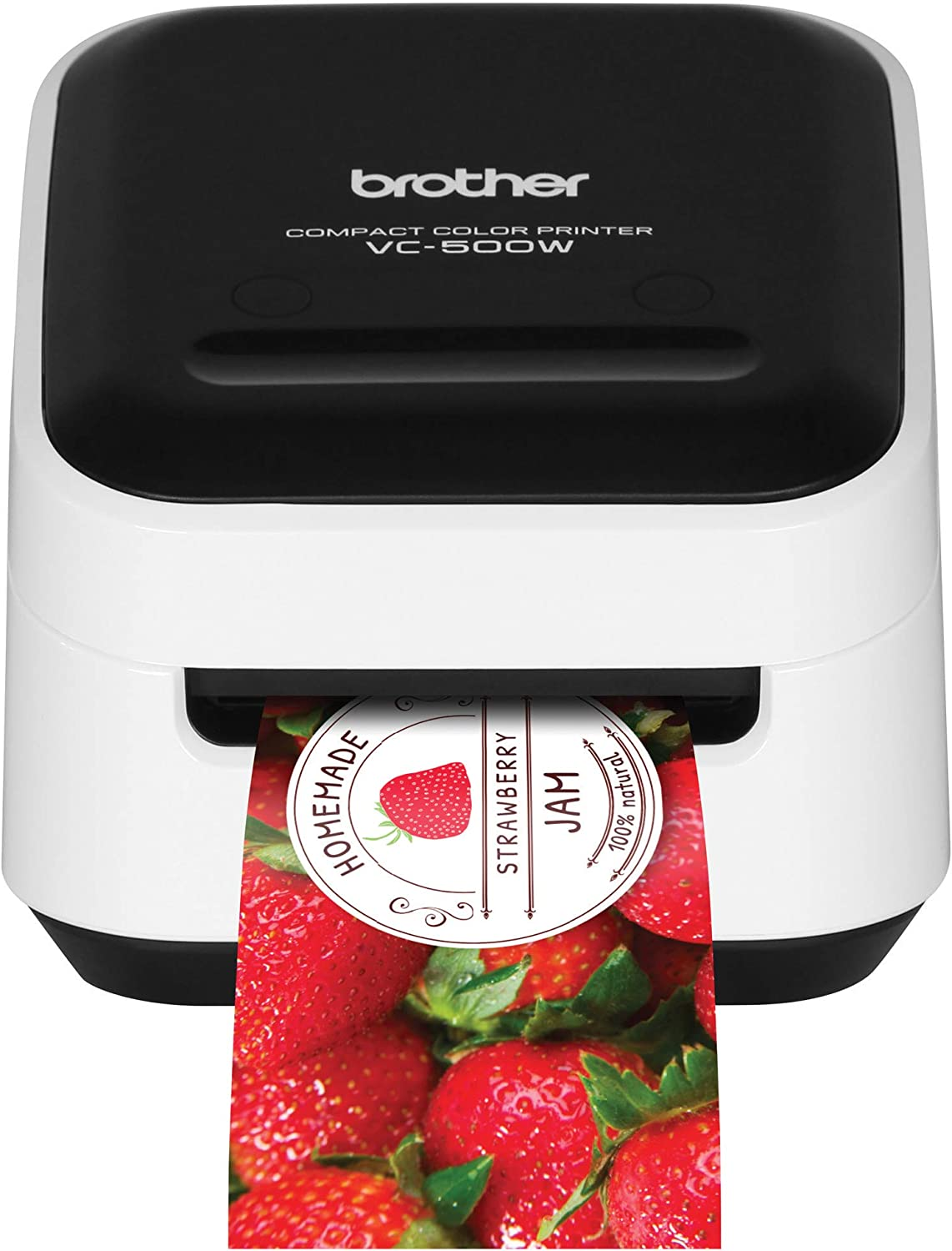 Brother VC-500W Versatile Compact Color Label and Photo Printer with Wireless Networking: Electronics