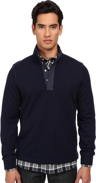 Percussion Half Button Sweater