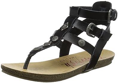 08f8e9e2d7bc Blowfish Women s s Glamm Ankle Strap Sandals  Amazon.co.uk  Shoes   Bags