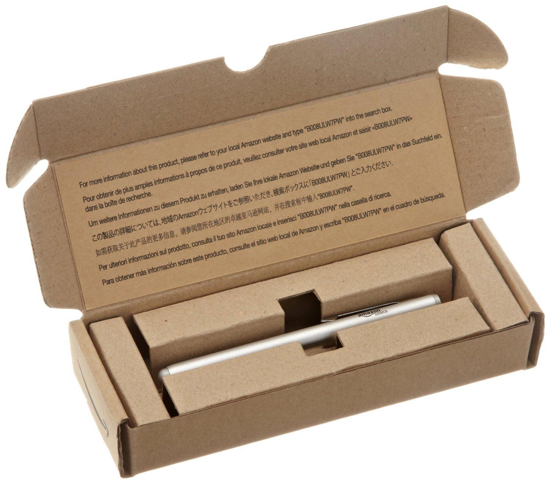 Basics Tragbarer St/änder mit verstellbarem Betrachtungswinkel f/ür Tablets Silber Schwarz /& Executive Stylus Touchscreen-Eingabestift E-Reader und Handys