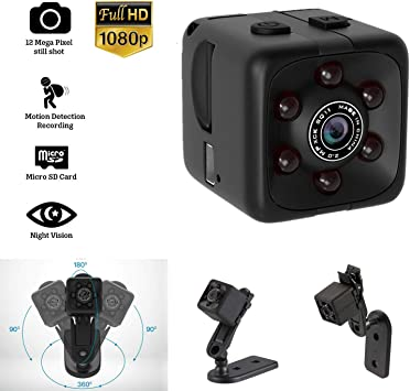 New COP CAM Security Camera Motion Detection 16// 32GB Card Night Vision Recorder