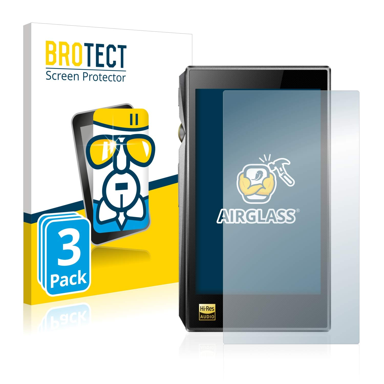 BROTECT Schutzfolie kompatibel mit FiiO X5 III 2 St/ück klare Displayschutz-Folie