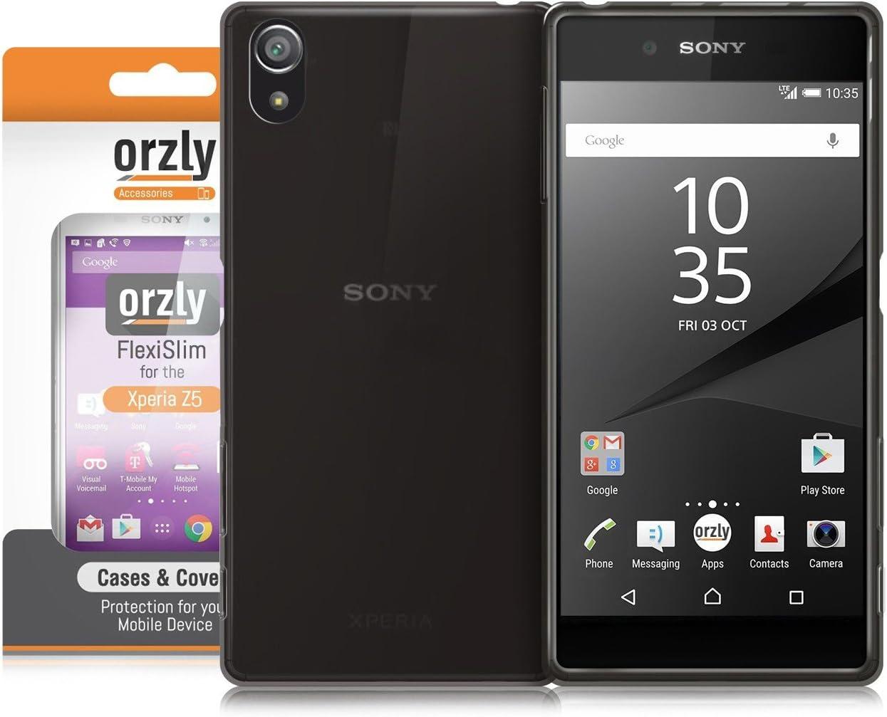 Orzly® - FlexiSlim Ultra Slim Case (0.35mm) para Sony Xperia Z5 ...