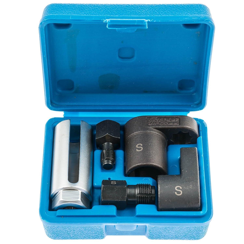 s-xos5 5PC lambda sensore di ossigeno socket filo Chasers Tool set auto garage kit UK SATRA