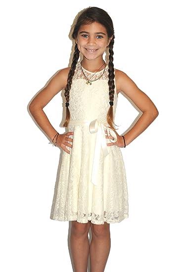 517b9cfb7d Amazon.com  Un Deux Trois High Neck Skater Dress  Clothing