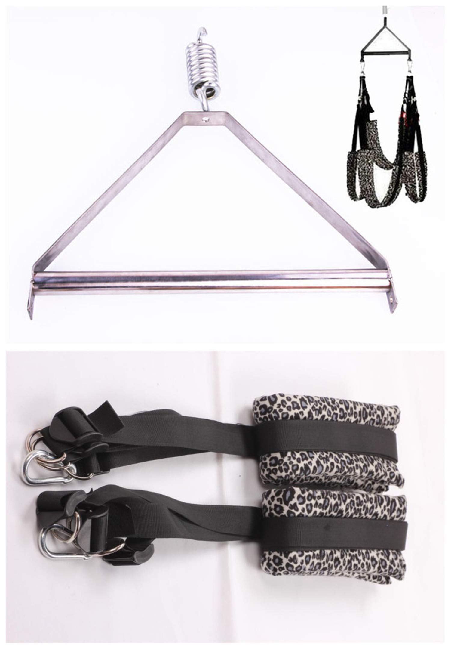 1Set Adult Love Game Sex Swing with Steel Tripod Fetish Bondage Furniture Toys for Couples Women,Erotic Sex Swings