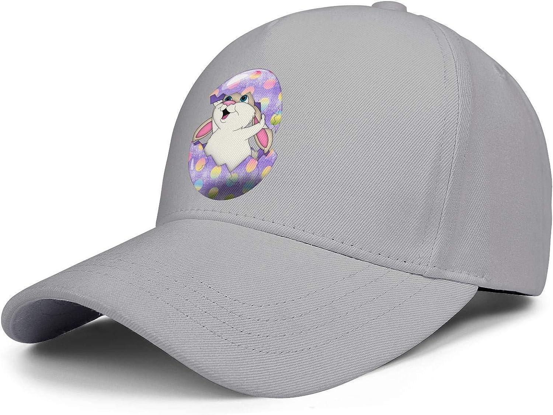 Easter Eggs Rabbit Unisex Baseball Cap Ultra Thin Sun Hats Adjustable Trucker Caps Dad-Hat